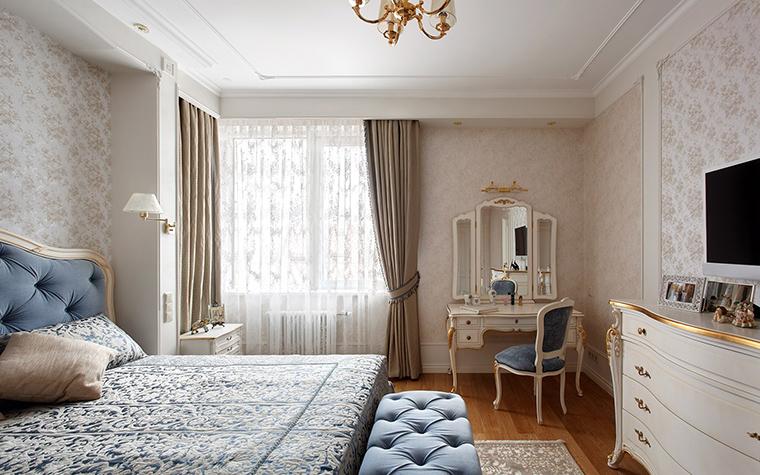 интерьер спальни - фото № 42515
