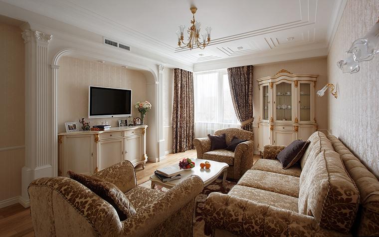 интерьер гостиной - фото № 42502
