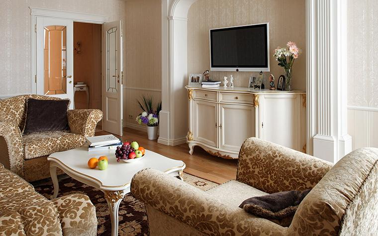 интерьер гостиной - фото № 42503