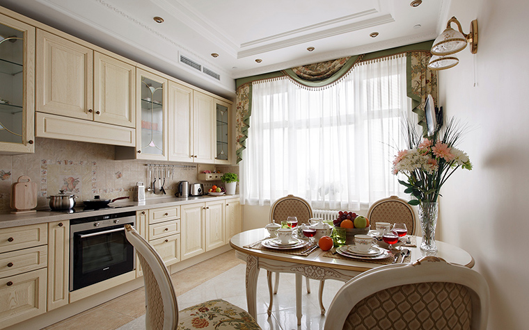 Квартира. кухня из проекта , фото №42507