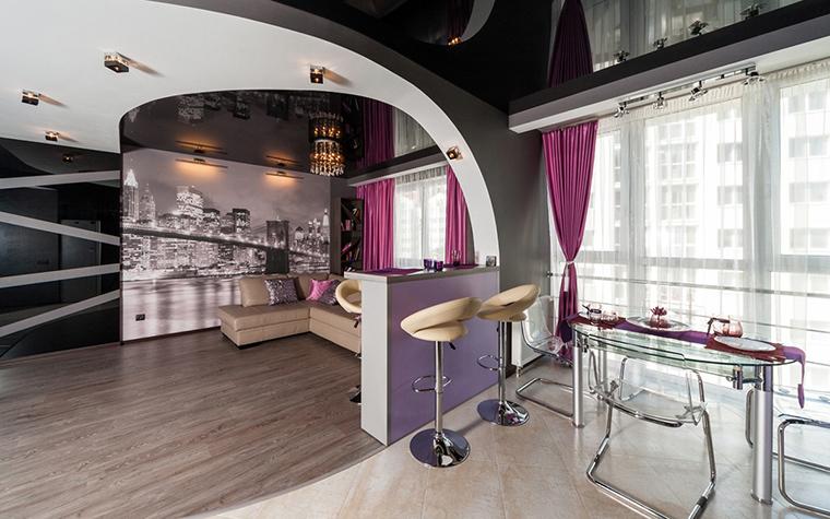 Квартира. гостиная из проекта Чёрное озеро, фото №42554