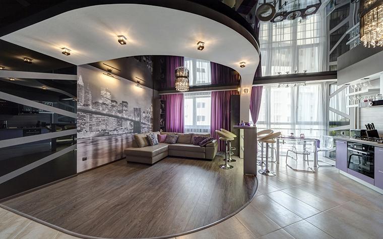 Квартира. гостиная из проекта Чёрное озеро, фото №42557