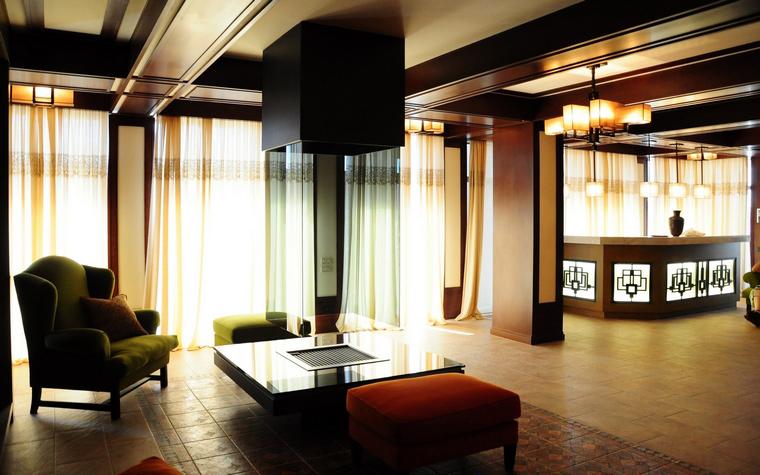 Фото № 42631 гостиная  Квартира