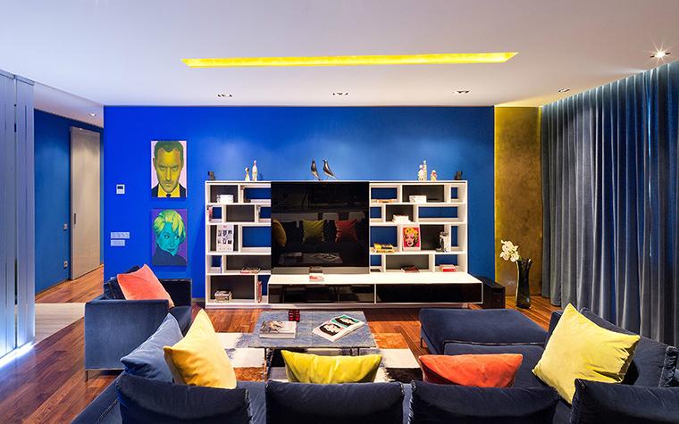 интерьер гостиной - фото № 42641