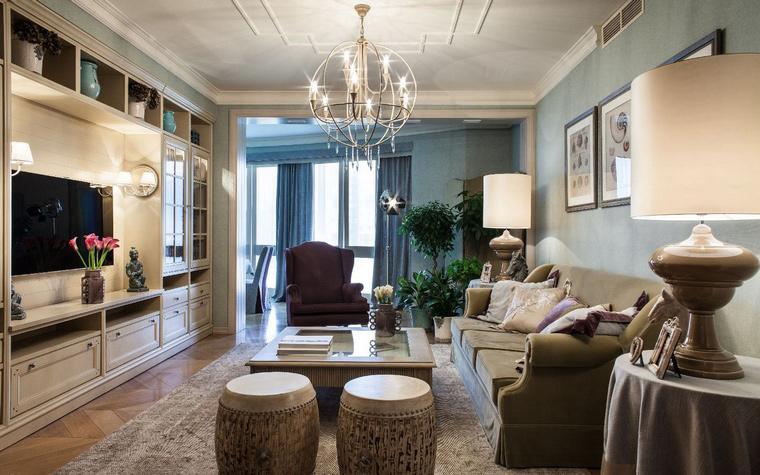 Квартира. гостиная из проекта , фото №42665