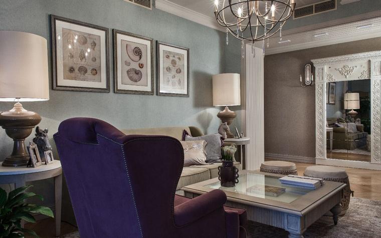 интерьер гостиной - фото № 42667