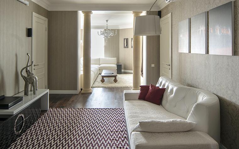 Фото № 42693 гостиная  Квартира