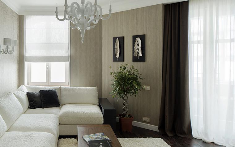 интерьер гостиной - фото № 42700