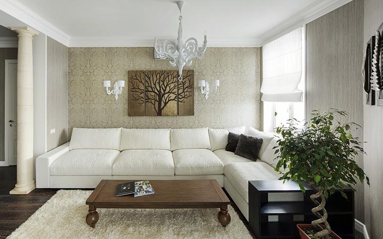 интерьер гостиной - фото № 42701