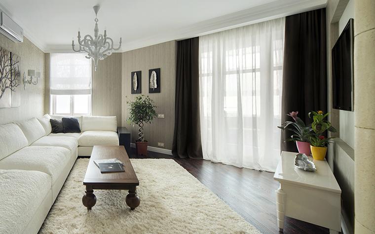 интерьер гостиной - фото № 42702