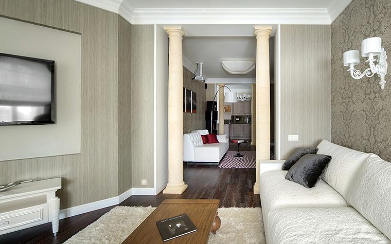 Фото № 42703 гостиная  Квартира