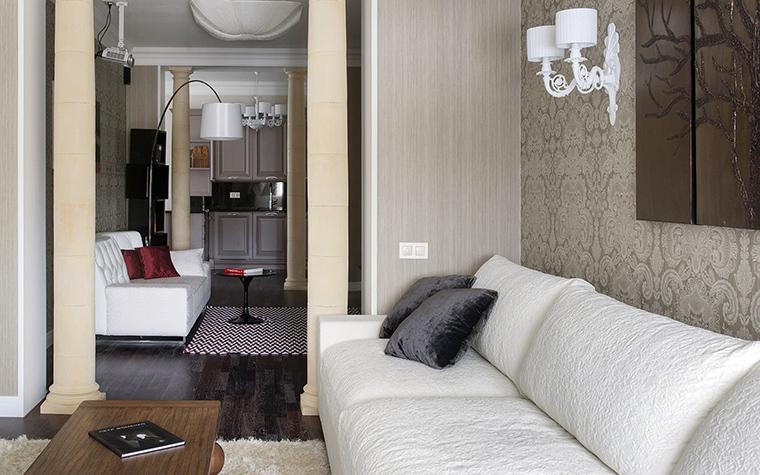Фото № 42705 гостиная  Квартира