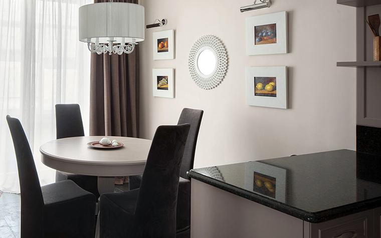 Квартира. столовая из проекта , фото №42708
