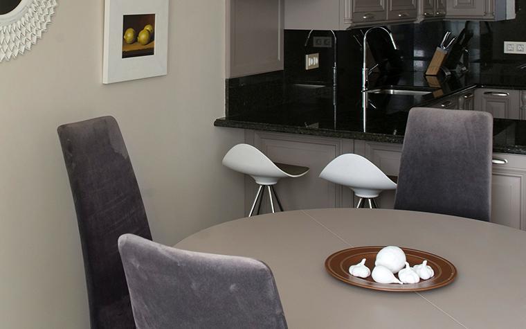 Квартира. столовая из проекта , фото №42710