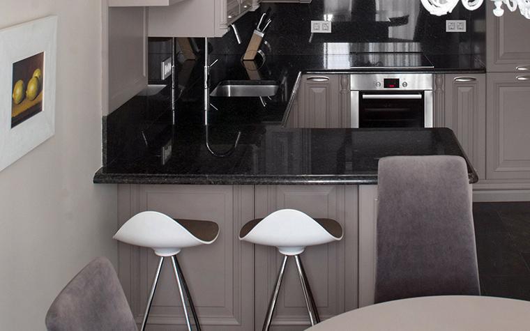 Фото № 42715 кухня  Квартира
