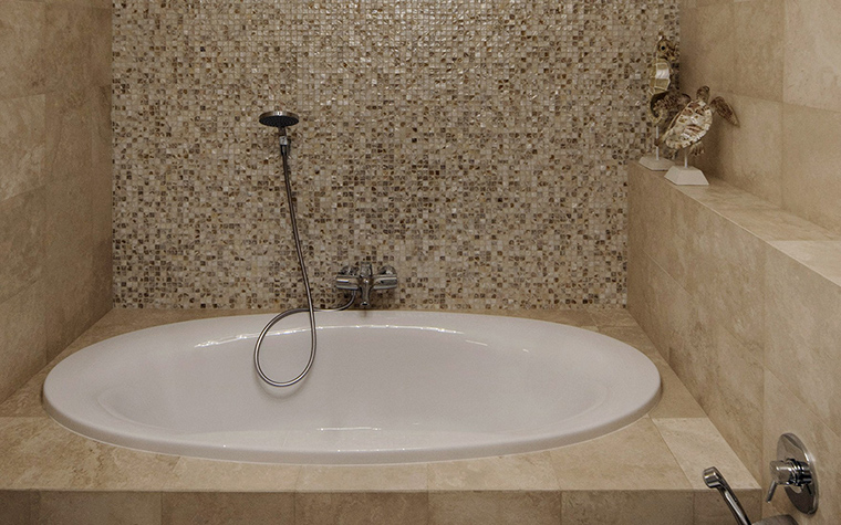 Квартира. ванная из проекта , фото №42728