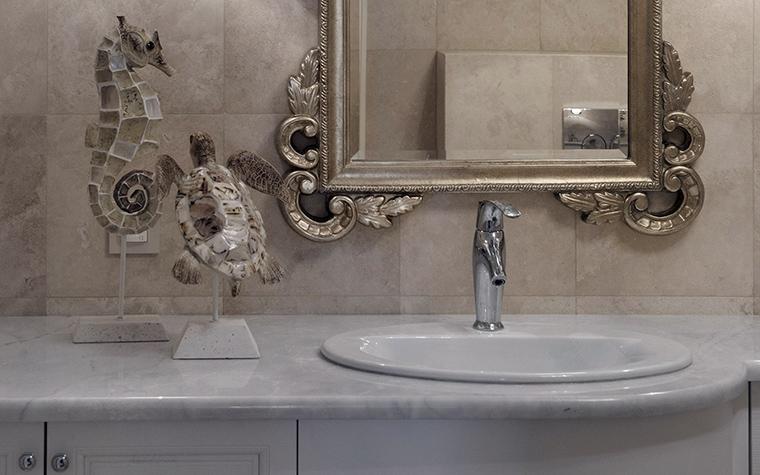 Квартира. ванная из проекта , фото №42729