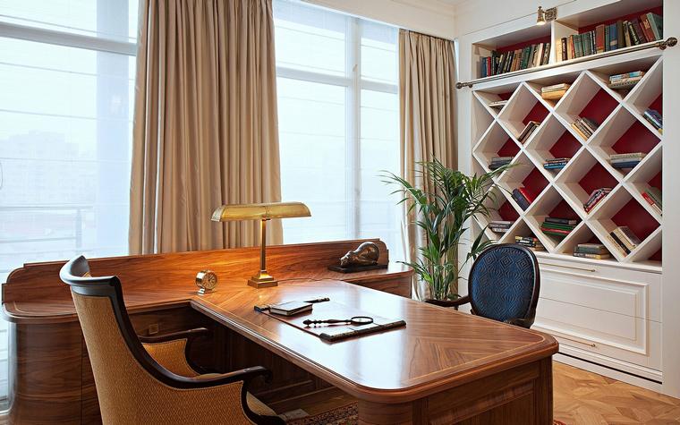 Фото № 42756 кабинет библиотека  Квартира