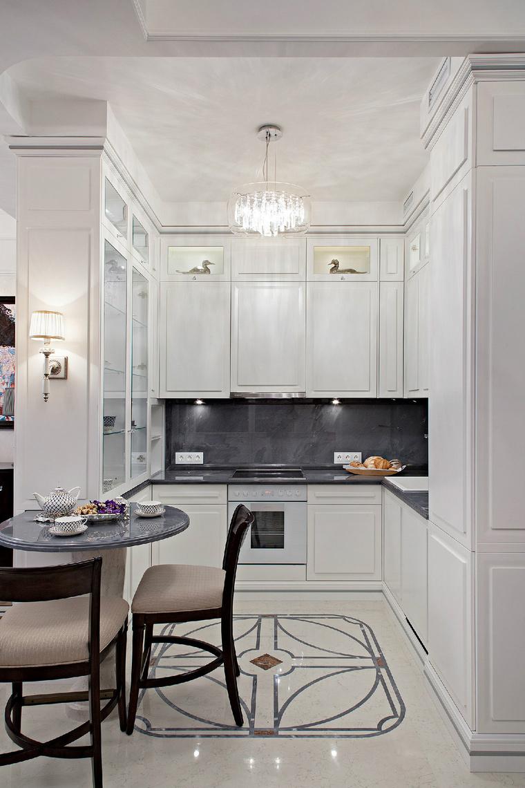 Фото № 42759 кухня  Квартира