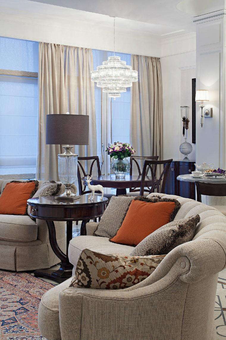 Фото № 42751 гостиная  Квартира