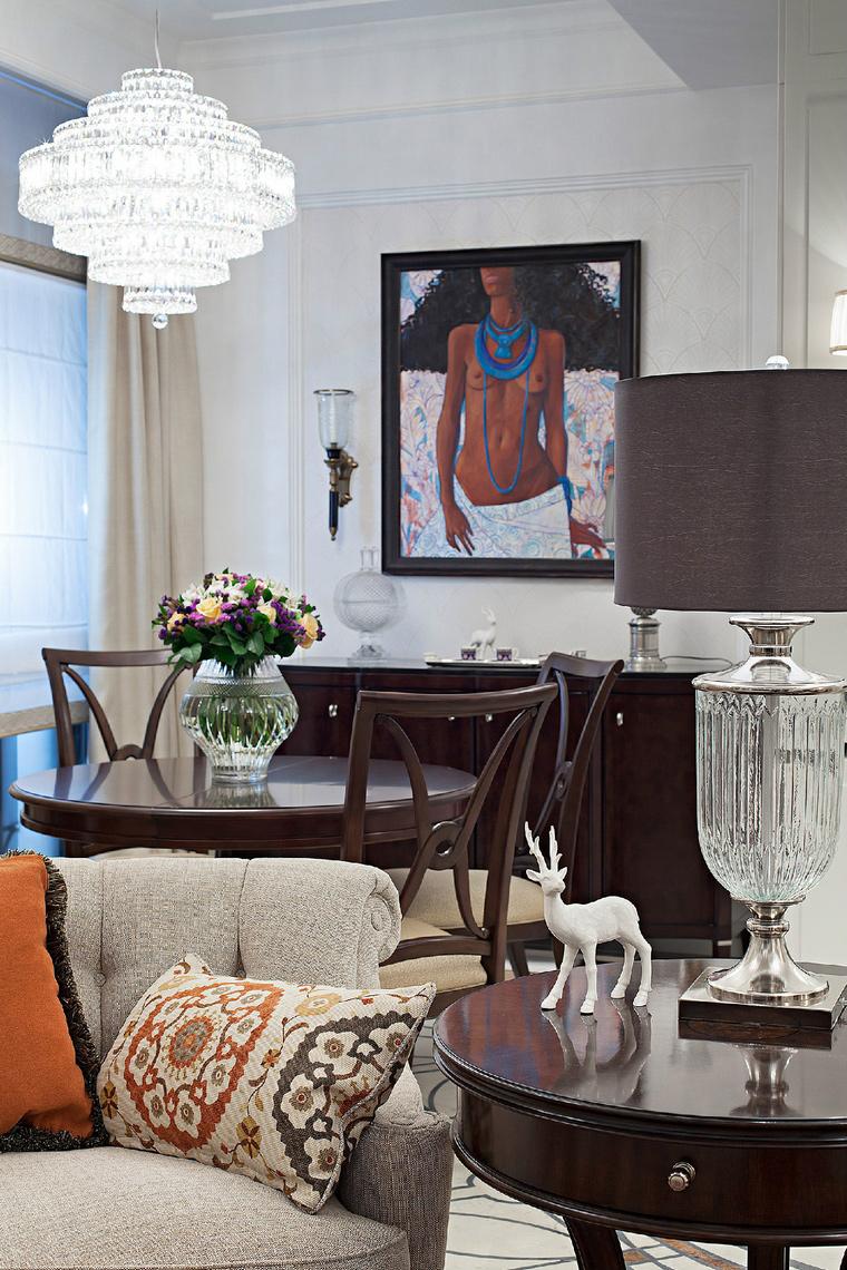 Фото № 42753 гостиная  Квартира