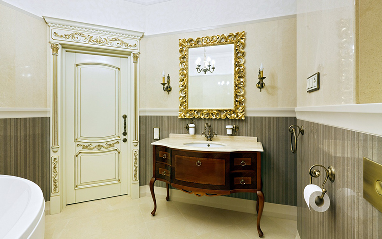 Фото № 42808 ванная  Квартира