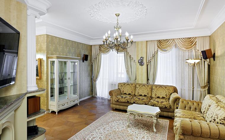 Фото № 42809 гостиная  Квартира