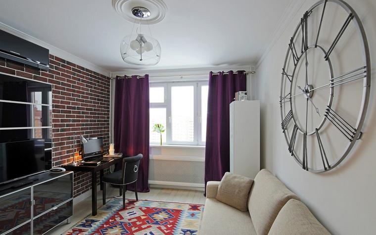 Фото № 42844 гостиная  Квартира