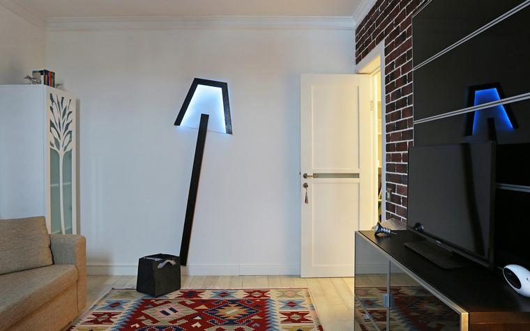 Фото № 42843 гостиная  Квартира