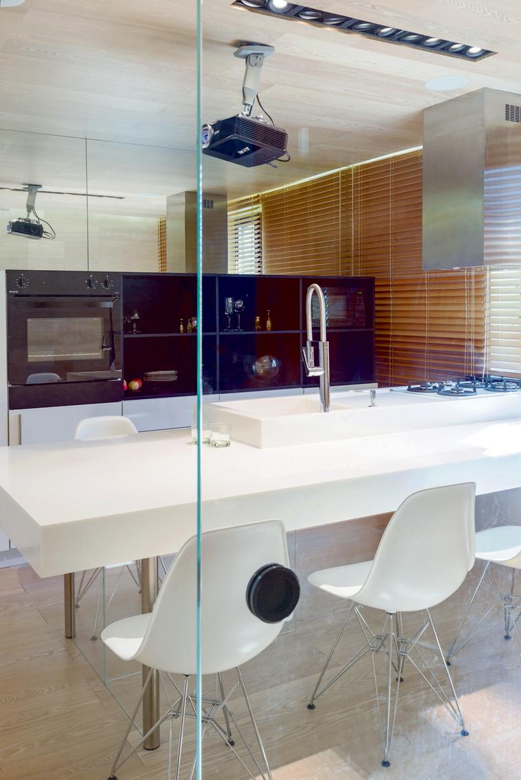 Фото № 42868 кухня  Квартира