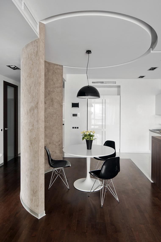 Квартира. столовая из проекта , фото №43001
