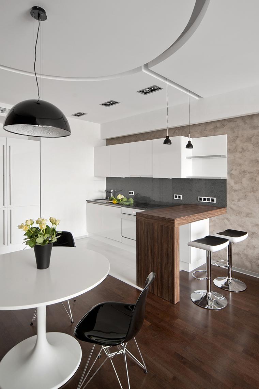 Квартира. столовая из проекта , фото №43003