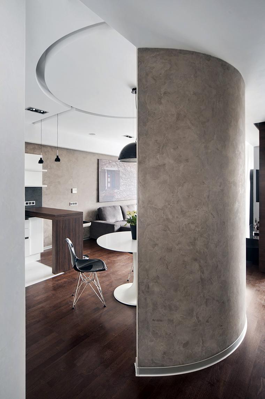 Квартира. столовая из проекта , фото №43004