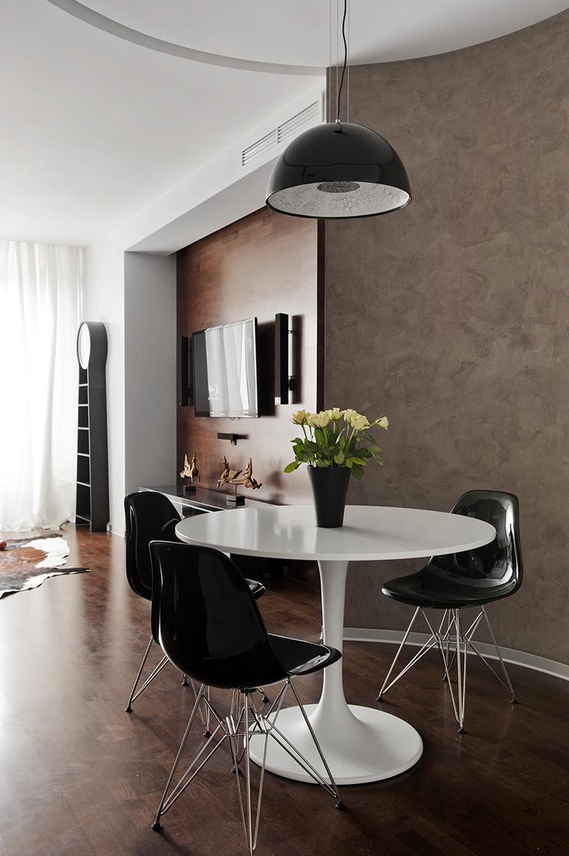 Квартира. столовая из проекта , фото №43005