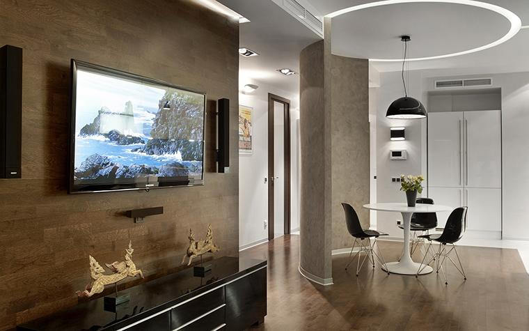 Квартира. гостиная из проекта , фото №42991