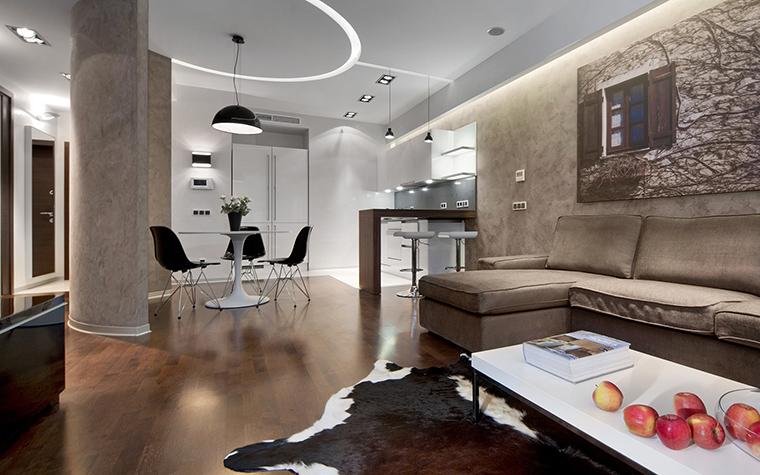 Квартира. гостиная из проекта , фото №42993