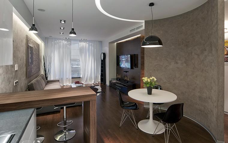 Квартира. столовая из проекта , фото №43008