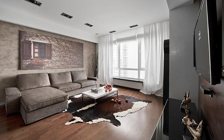 Квартира. гостиная из проекта , фото №42996