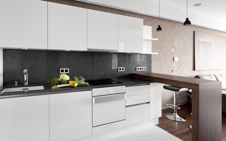 Квартира. кухня из проекта , фото №43013