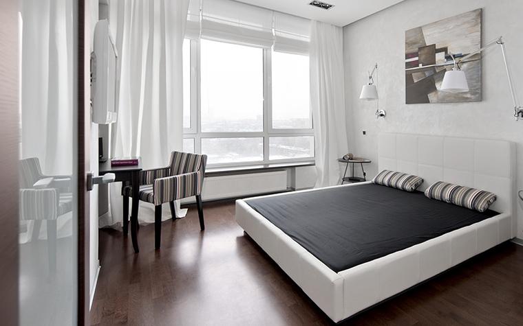 Квартира. спальня из проекта , фото №43024