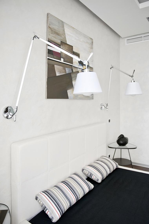 Квартира. спальня из проекта , фото №43029