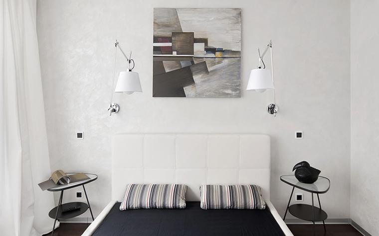 Квартира. спальня из проекта , фото №43030