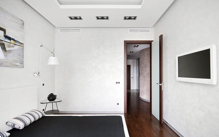 Квартира. спальня из проекта , фото №43032