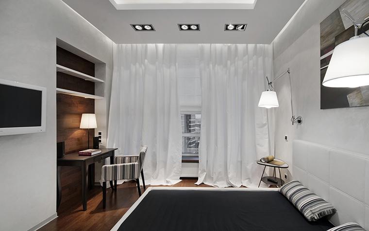 Квартира. спальня из проекта , фото №43035