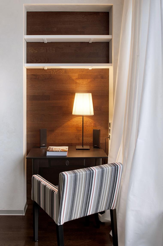 Квартира. спальня из проекта , фото №43038