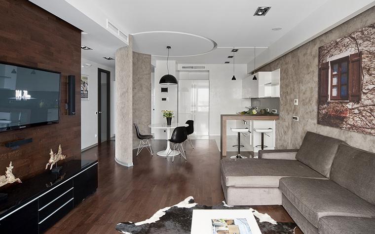Квартира. гостиная из проекта , фото №42989