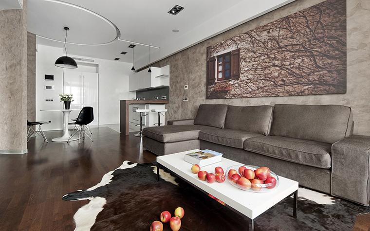 Квартира. гостиная из проекта , фото №42990