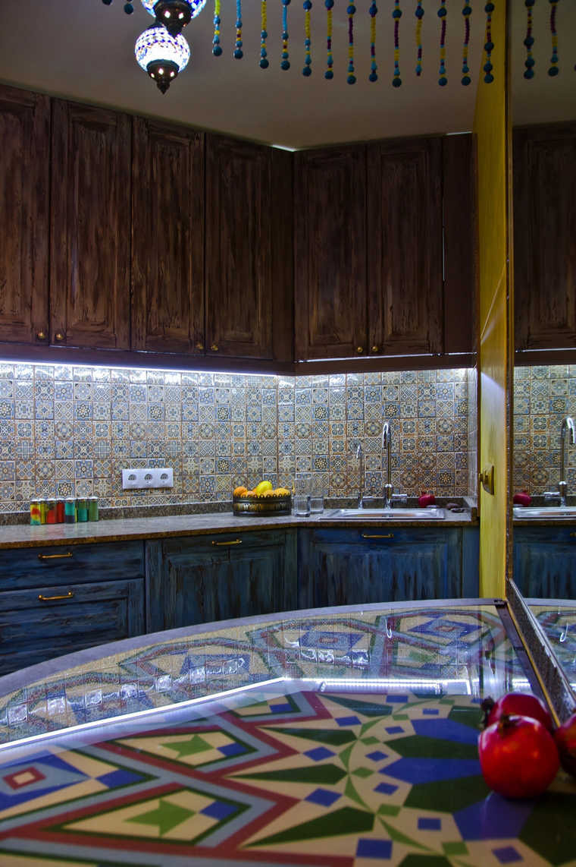 Фото № 43174 кухня  Квартира