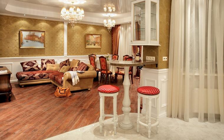 Фото № 43253 гостиная  Квартира