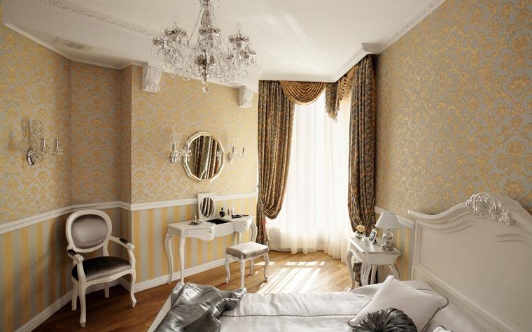 интерьер спальни - фото № 43254